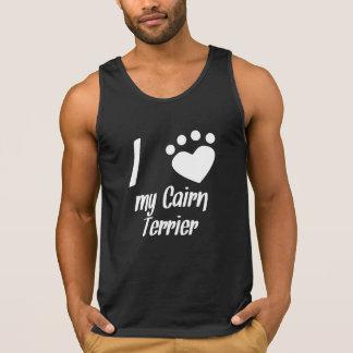 I Heart My Cairn Terrier Tank Top