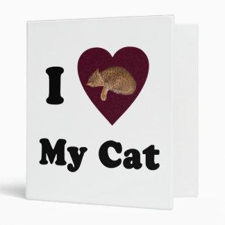 I Heart My Cat Binder
