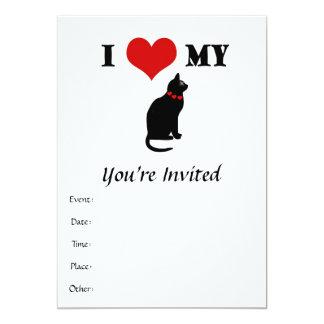I Heart My Cat Card