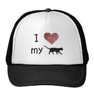 I heart my Cat Trucker Hat