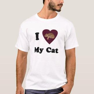 I Heart My Cat Shirt
