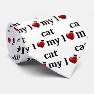 I Heart My Cat Tie