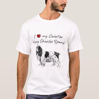 """I ""heart"" my Cavalier King Charles spaniel""! T-Shirt"