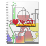 I Heart My CLTS CLINICAL LABORATORY TECH Notebook