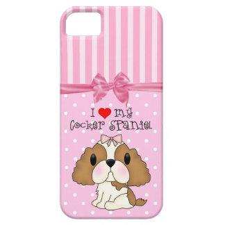 I Heart My Cocker Spaniel iPhone 5 Case
