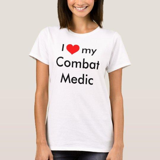 I heart my Combat Medic T-Shirt