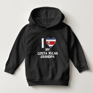 I Heart My Costa Rican Grandpa Hoodie