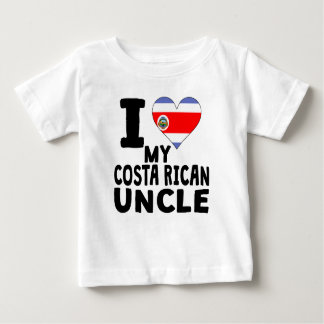 I Heart My Costa Rican Uncle T Shirt