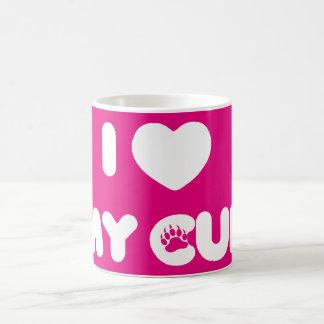 I Heart My Cub Coffee Mug