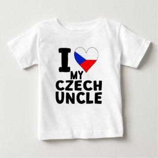 I Heart My Czech Uncle Tshirts