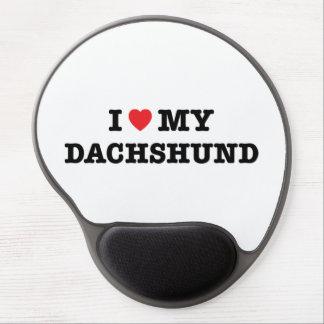I Heart My Dachshund Gel Mouse Pad