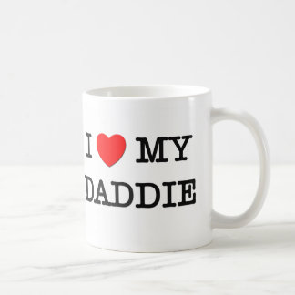 I Heart My DADDIE Mugs