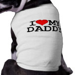 I Heart My Daddy Dog Clothes
