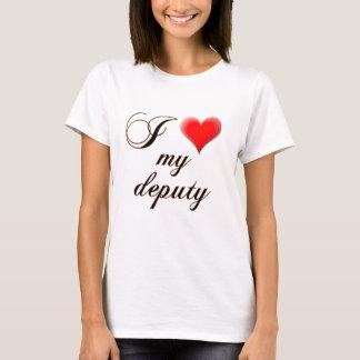 """I """"heart"""" My Deputy T-Shirt"""