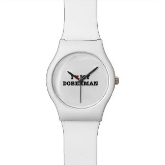 I Heart My Doberman May28th Wristwatch