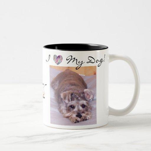 I Heart My Dog! Coffee Mug