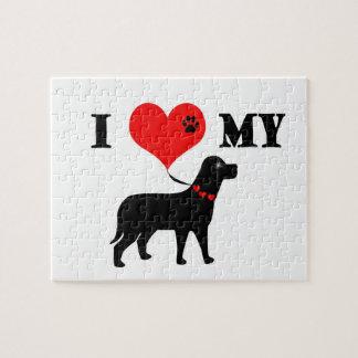 I Heart My Dog Puzzle
