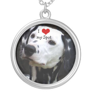 I Heart My Dog Your Photo Necklace