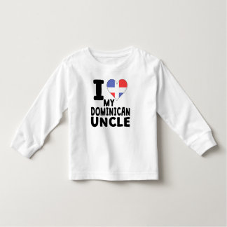 I Heart My Dominican Uncle Toddler T-shirt