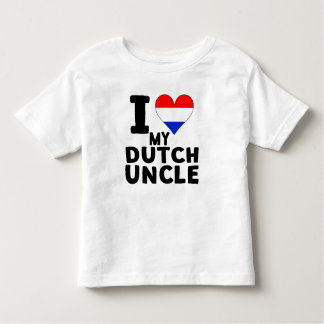 I Heart My Dutch Uncle Toddler T-shirt