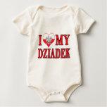 I Heart My Dziadek Baby Creeper