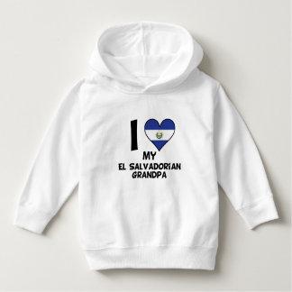I Heart My El Salvadorian Grandpa Hoodie