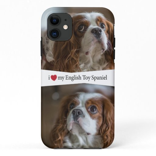 I Heart My English Toy Spaniel Case-Mate iPhone Ca