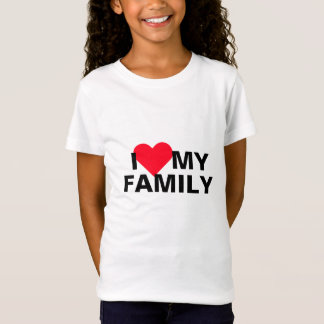 I Heart My Family T-Shirt