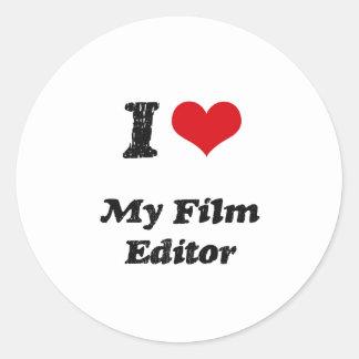 I heart My Film Editor Stickers