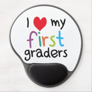 I Heart My First Graders Teacher Love Gel Mouse Mats