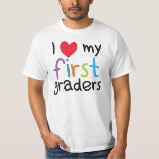 I Heart My First Graders Teacher Love Shirt
