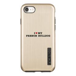 Incipio DualPro Shine iPhone 7 Case with Bulldog Phone Cases design