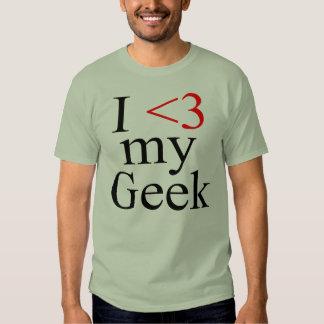 I Heart My Geek T Shirt