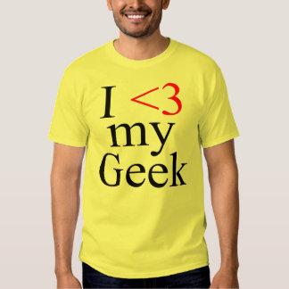 I Heart My Geek T Shirts