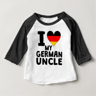 I Heart My German Uncle Baby T-Shirt