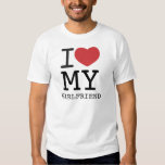I HEART MY GIRLFRIEND customizable T-shirts