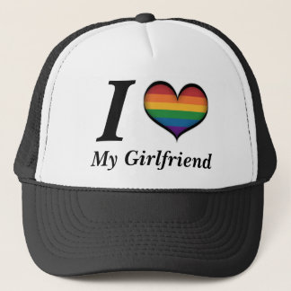 I Heart My Girlfriend Trucker Hat