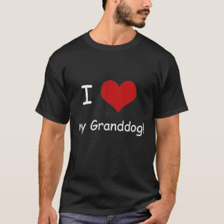 I Heart My Granddog Unisex Shirt, dark colors T-Shirt