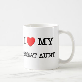 I Heart My GREAT AUNT Coffee Mug