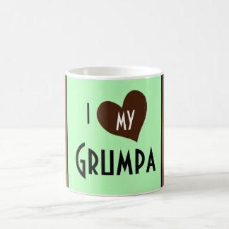 I heart my Grumpa Coffee Mug