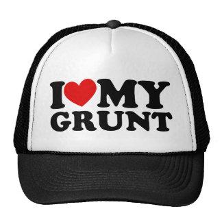 "I ""Heart"" My Grunt Trucker Hat"