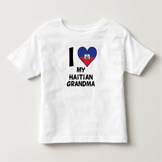 I Heart My Haitian Grandma Toddler T-shirt