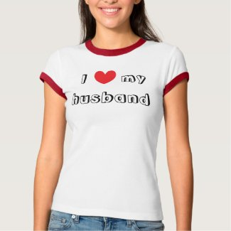 I Heart My Husband Shirt shirt