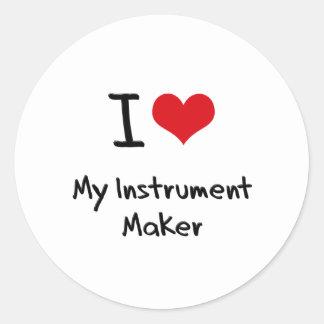 I heart My Instrument Maker Sticker
