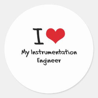 I heart My Instrumentation Engineer Sticker