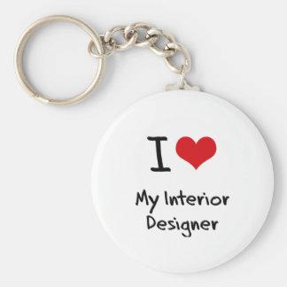 I heart My Interior Designer Keychains
