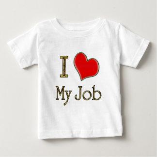 I Heart My Job Baby T-Shirt