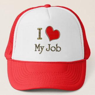 I Heart My Job Trucker Hat