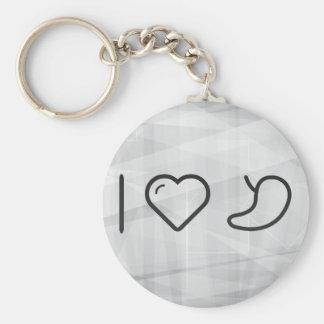 I Heart My Kidneys Keychain