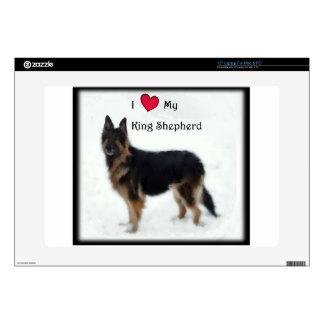 I heart my King Shepherd Laptop Decal